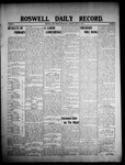 Roswell Daily Record, 03-18-1908 by H. E. M. Bear