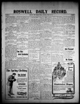 Roswell Daily Record, 03-20-1908 by H. E. M. Bear