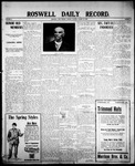 Roswell Daily Record, 03-23-1908 by H. E. M. Bear