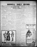 Roswell Daily Record, 03-25-1908 by H. E. M. Bear