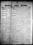 Roswell Daily Record, 04-01-1908 by H. E. M. Bear