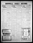 Roswell Daily Record, 04-08-1908 by H. E. M. Bear