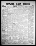 Roswell Daily Record, 04-09-1908 by H. E. M. Bear