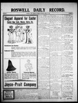Roswell Daily Record, 04-11-1908 by H. E. M. Bear