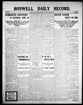 Roswell Daily Record, 04-13-1908 by H. E. M. Bear