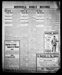 Roswell Daily Record, 04-16-1908 by H. E. M. Bear