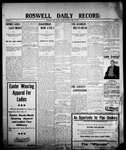 Roswell Daily Record, 04-17-1908 by H. E. M. Bear
