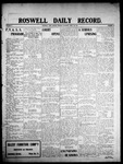 Roswell Daily Record, 04-20-1908 by H. E. M. Bear