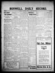 Roswell Daily Record, 04-22-1908 by H. E. M. Bear