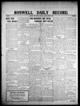 Roswell Daily Record, 04-25-1908 by H. E. M. Bear