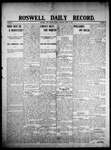 Roswell Daily Record, 04-27-1908 by H. E. M. Bear