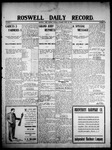 Roswell Daily Record, 04-28-1908 by H. E. M. Bear