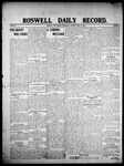 Roswell Daily Record, 04-29-1908 by H. E. M. Bear