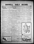 Roswell Daily Record, 05-13-1908 by H. E. M. Bear