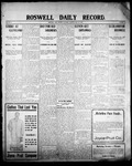 Roswell Daily Record, 05-16-1908 by H. E. M. Bear
