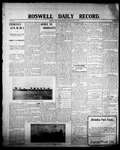Roswell Daily Record, 05-18-1908 by H. E. M. Bear