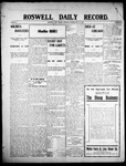 Roswell Daily Record, 05-19-1908 by H. E. M. Bear
