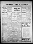 Roswell Daily Record, 05-22-1908 by H. E. M. Bear