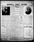 Roswell Daily Record, 05-26-1908 by H. E. M. Bear