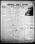 Roswell Daily Record, 05-28-1908 by H. E. M. Bear
