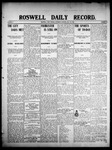 Roswell Daily Record, 05-30-1908 by H. E. M. Bear