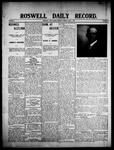 Roswell Daily Record, 06-01-1908 by H. E. M. Bear