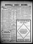 Roswell Daily Record, 06-06-1908 by H. E. M. Bear
