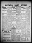 Roswell Daily Record, 06-08-1908 by H. E. M. Bear