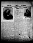 Roswell Daily Record, 06-09-1908 by H. E. M. Bear
