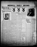 Roswell Daily Record, 06-11-1908 by H. E. M. Bear