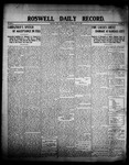 Roswell Daily Record, 06-12-1908 by H. E. M. Bear
