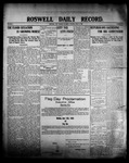 Roswell Daily Record, 06-13-1908 by H. E. M. Bear