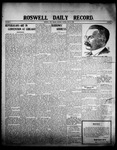 Roswell Daily Record, 06-16-1908 by H. E. M. Bear