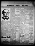 Roswell Daily Record, 06-20-1908 by H. E. M. Bear