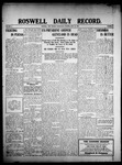 Roswell Daily Record, 06-24-1908 by H. E. M. Bear