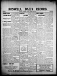 Roswell Daily Record, 06-25-1908 by H. E. M. Bear