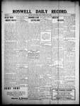 Roswell Daily Record, 06-26-1908 by H. E. M. Bear