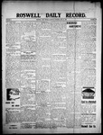 Roswell Daily Record, 06-27-1908 by H. E. M. Bear