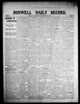 Roswell Daily Record, 07-01-1908 by H. E. M. Bear
