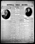 Roswell Daily Record, 07-11-1908 by H. E. M. Bear