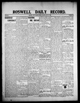 Roswell Daily Record, 07-13-1908 by H. E. M. Bear