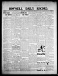 Roswell Daily Record, 07-14-1908 by H. E. M. Bear