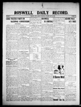 Roswell Daily Record, 07-15-1908 by H. E. M. Bear