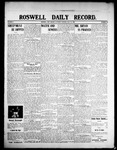 Roswell Daily Record, 07-18-1908 by H. E. M. Bear