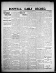 Roswell Daily Record, 07-20-1908 by H. E. M. Bear