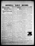 Roswell Daily Record, 07-21-1908 by H. E. M. Bear