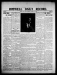 Roswell Daily Record, 07-22-1908 by H. E. M. Bear