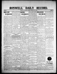 Roswell Daily Record, 07-23-1908 by H. E. M. Bear