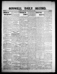 Roswell Daily Record, 07-24-1908 by H. E. M. Bear