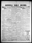 Roswell Daily Record, 07-25-1908 by H. E. M. Bear
